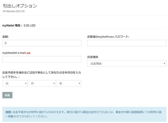 HotForex-出金-bitwallet1