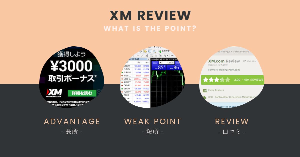 XMの評判まとめ